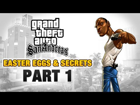 GTA San Andreas - Easter Eggs and Secrets - Part 1