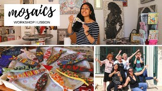 Gambar cover The Best MOSAICS Workshop in LISBON! Creative AirBnB Experience.