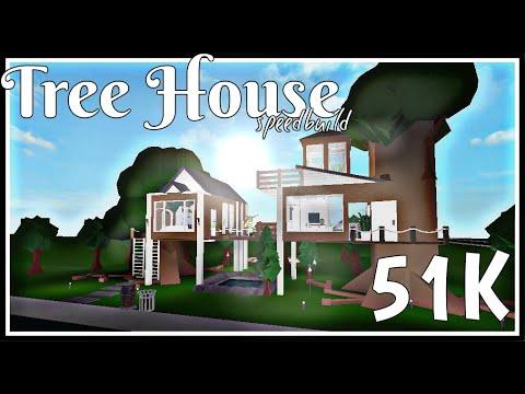 Bloxburg Tree House 51k Youtube