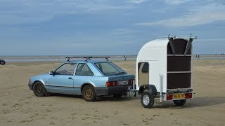 The Homie car-towable version camper by Wide Path Camper