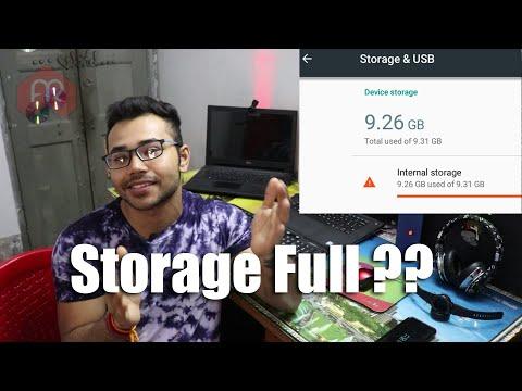 How to clean internal storage