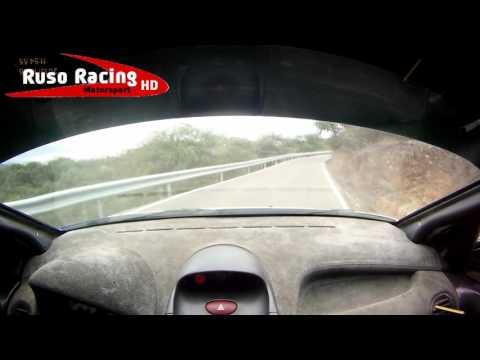 Onboard Angel G Sanchez  Paco Viso Peugeot 206 XS Rallye Pozoblanco 2015 TC2: La Canaleja HD