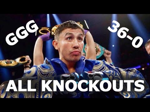 Thumbnail: GENNADY GOLOVKIN - ALL KNOCKOUTS / GGG 2016 / ГОЛОВКИН - ВСЕ НОКАУТЫ / TRIPLE G