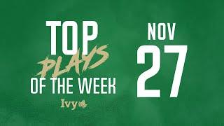 Top Plays of the Week: November 27, 2019