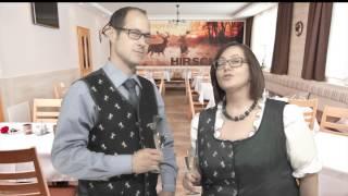 Geschwister Karin und Hannes Offner, Spengerwirt in Hirschegg