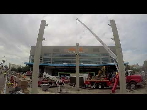 "Vivint Smart Home ""Arena Rising"" Renovation Update - New Main Entry"