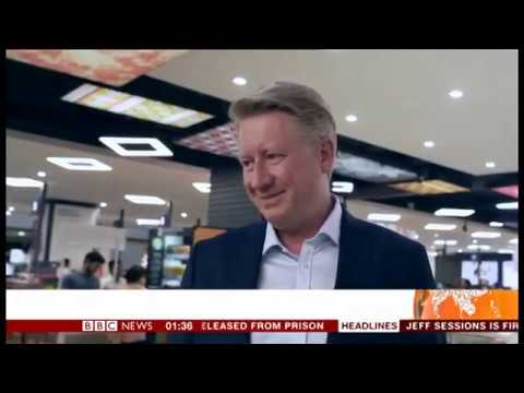 Bernhard Brugger's Exclusive Interaction with BBC World News Asia Business Report - Nov 2018