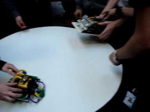Projekt Legorobot KTH Kista 2007 - Finalen