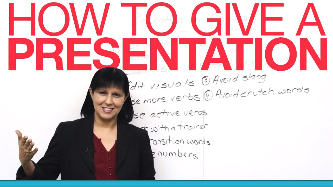 Give a presentation about