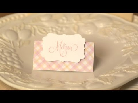 bridal shower place card holders practical party ideas