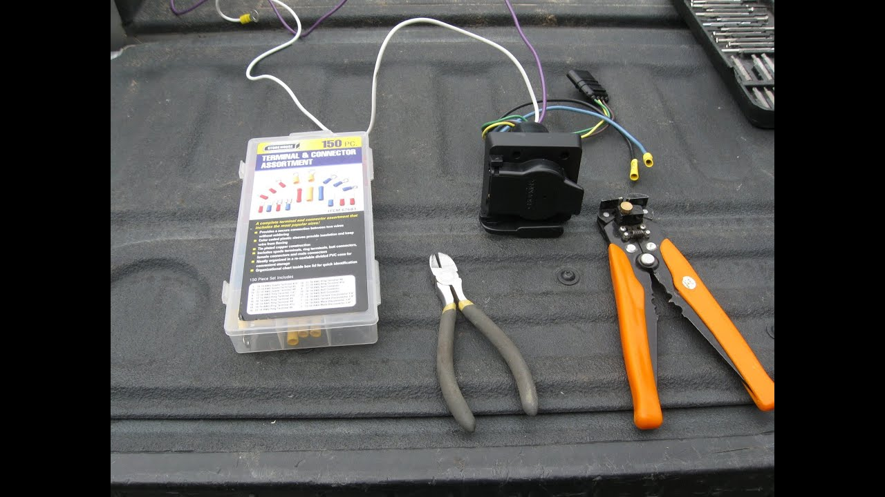 maxresdefault how to replace a 7 pin trailer towing harness on a dodge ram 5 7l 4 Prong Trailer Wiring Diagram at aneh.co