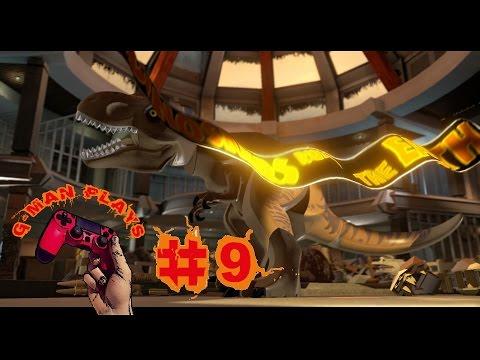 LEGO Jurassic World #9 Rex Vs Raptor (gameplay)