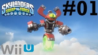 Skylanders SWAP Force Wii U Co-Op -- Chapter 1: Mount Cloudbreak