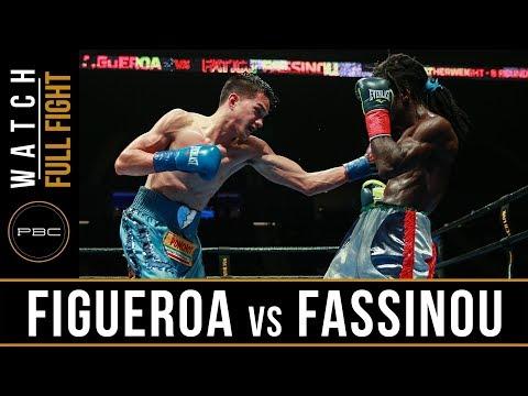 Figueroa vs Fassinou FULL FIGHT: July 15, 2017 - PBC on FS1