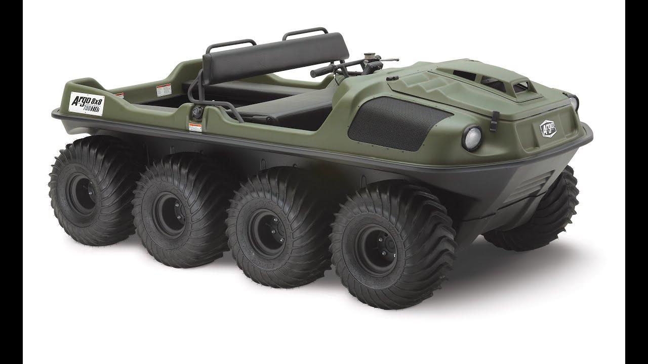 Argo Hdi 750 8x8 Amphibious Utv