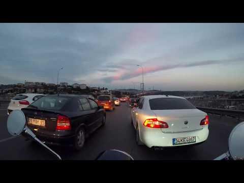 Turkey Istanbul Bosphorus TimeLapse Vespa