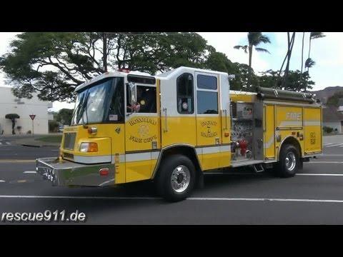 Engine 7 Honolulu Fire Department