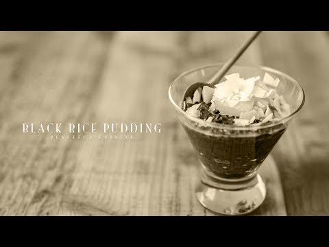 [No Music] How to make Black Rice Pudding