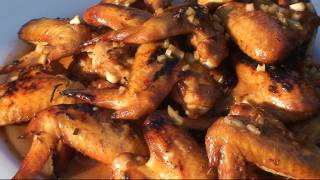 Bbq Chicken Wings With Whiskey Sauce