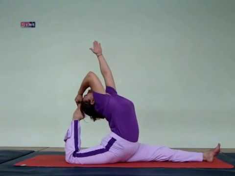 Tư thế chim bồ câu - Yoga Kapothasana.flv