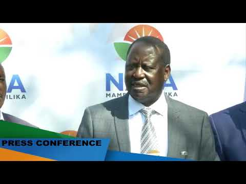 Raila Talks to Kenyans For the First Time After SWEARING Himself as President. He Criticizes Uhuru.