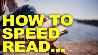 How to Speed Read  (Personal Development & Entrepreneurship books)