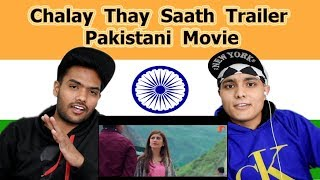 Indian reaction on Chalay Thay Saath Trailer | Swaggy d