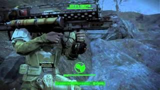 Fallout 4 Толстяк vs Коготь смерти