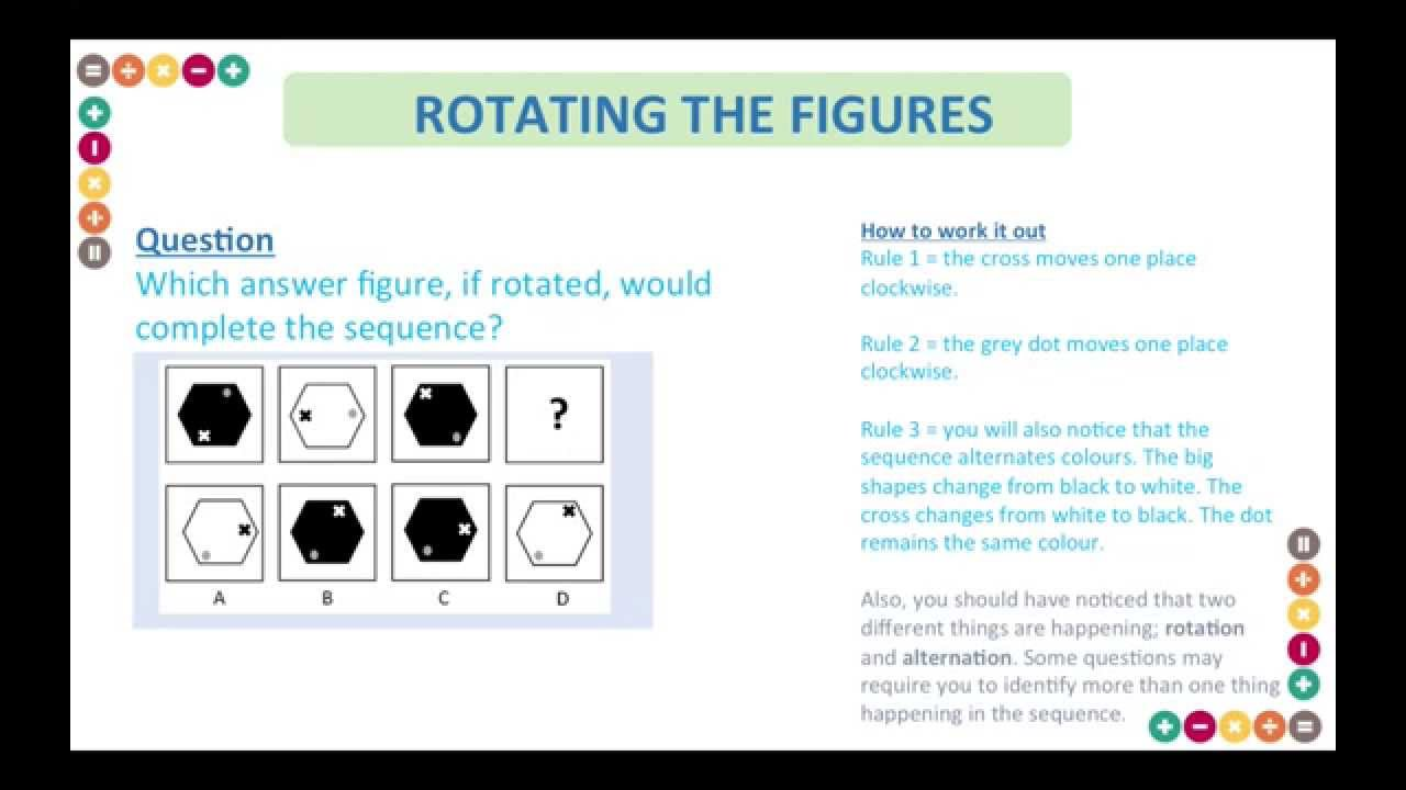 hight resolution of 11 Plus (Eleven Plus) Non Verbal Reasoning Test Questions and Answers -  YouTube