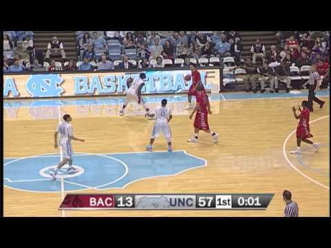 UNC Men's Basketball: Highlights vs. Belmont-Abbey
