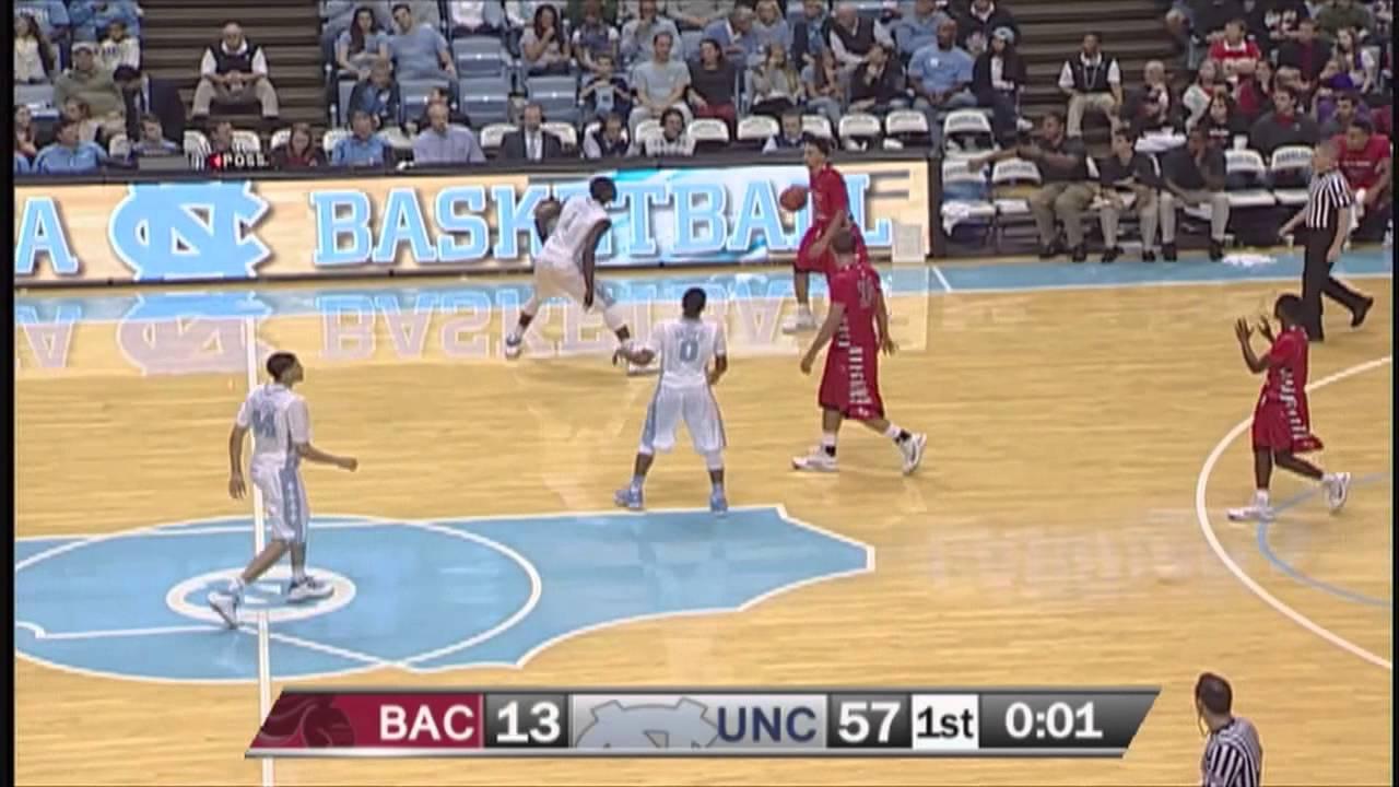 UNC Mens Basketball Highlights Vs Belmont Abbey YouTube