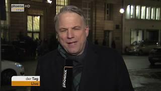 Statements von CDU/CSU und SPD zu den Sondierungsgesprächen am 04.01.18