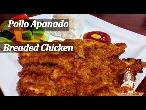 Pollo Apanado  (empanizado //  Breaded Chicken