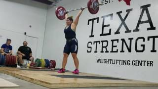 Lauren Hubbard Texas Strength Meet 2016