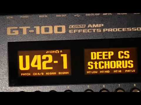 boss gt 10 patches pdf