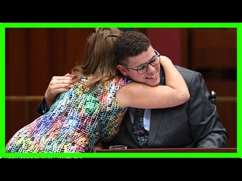 'we are a caring people': australia's youngest ever senator delivers first speech