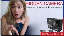 Making My SpyCamShirt - Hidden Camera