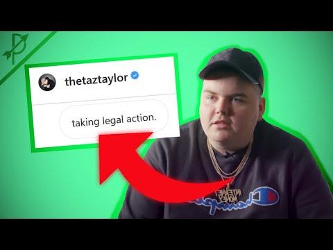 TAZ TAYLOR THREATENS A LAWSUIT!?