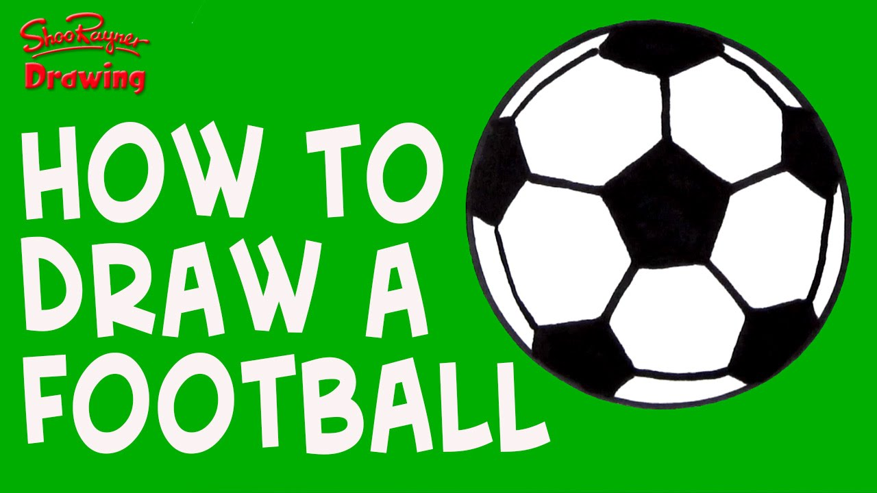 How To Draw A Soccer Ball Easy Drawing For Kids And Beginners