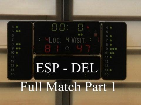 U16: ESP - DEL (81:47) - Full Match Multiscreen (Part 1 of 2)