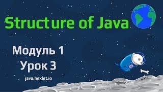 Модуль 1. Урок 3. Из чего состоит Java.