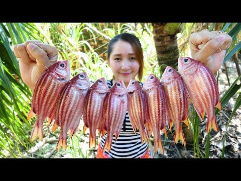 Yummy Fish Cooking Tamarind Sauce – Fish Grilling Recipe – Cooking With Sros