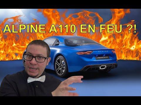 Alpine A110 en feu, et alors ? - La Minute Actu ep6 - alexsmolik