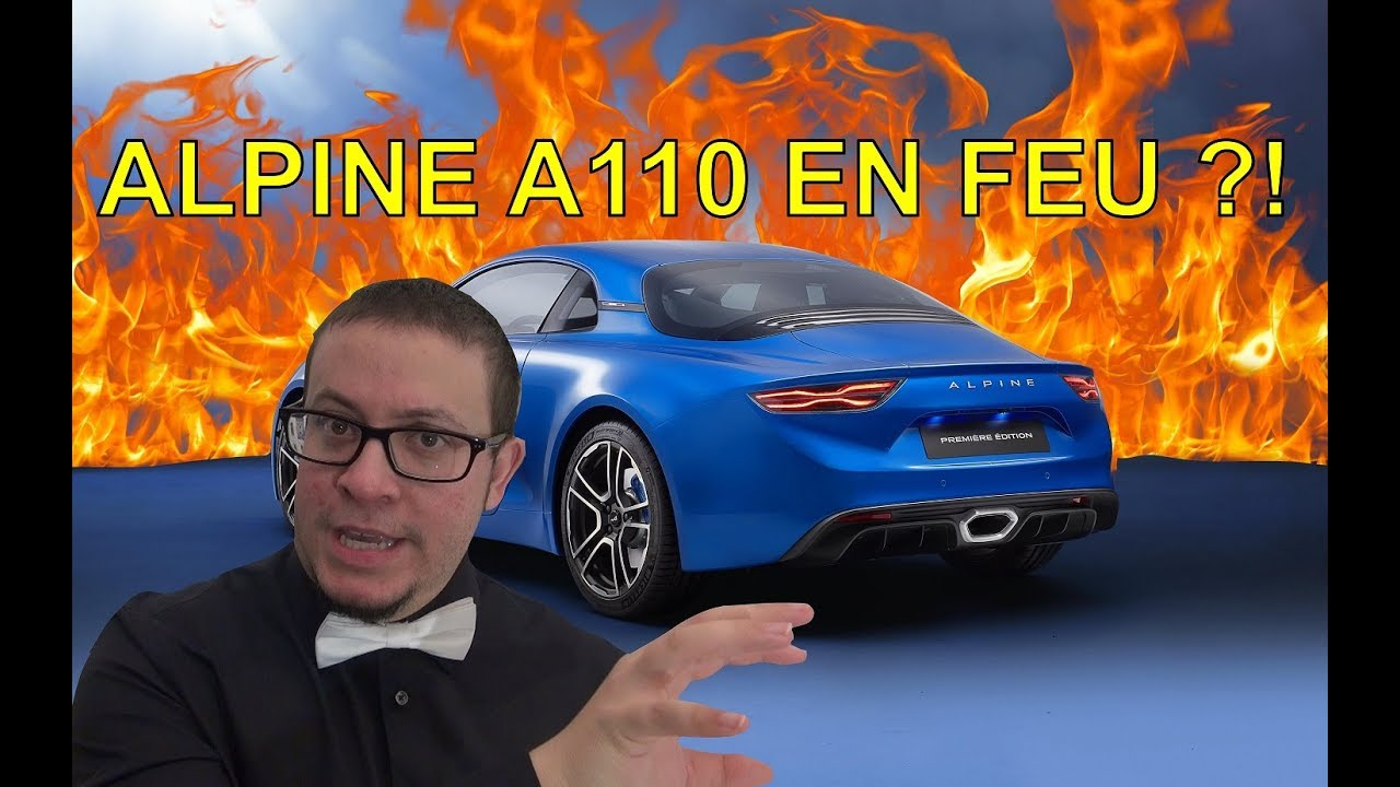 alpine a110 en feu et alors la minute actu ep6 alexsmolik youtube. Black Bedroom Furniture Sets. Home Design Ideas