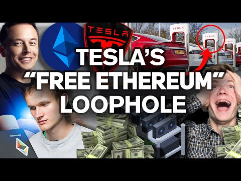 Want FREE Ethereum!? Buy A Tesla!