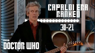 Doctor Who - Ranking Every Capaldi Episode! | 30-21