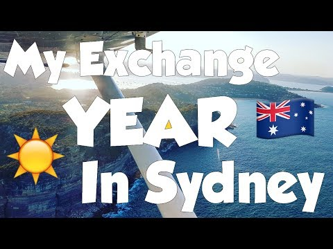 My Exchange Year in Sydney - Soaring to New Heights #Abroad2017