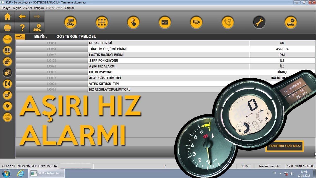 Megane 3 - Fluence Over Speed Alarm Activation Over Clip - Hidden Feature!