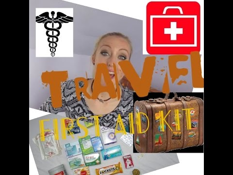 Travel First Aid | Pharmacy | What I'm Packing for Travelling