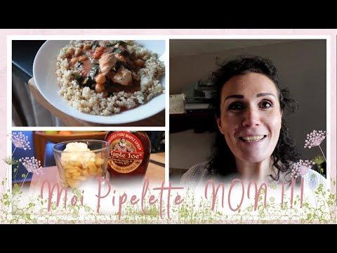 vlog-famille-du-3-avril-:-curry-de-poulet-aux-pois-chiche-et-épinard-et-pomme-caramélisé-à-l'érable